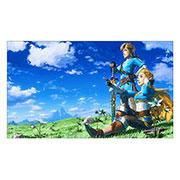 Неформатный постер Legend of Zelda